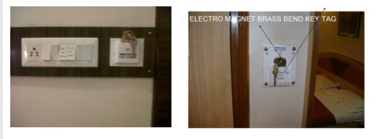 Hotel Room For Customer Use Keytag